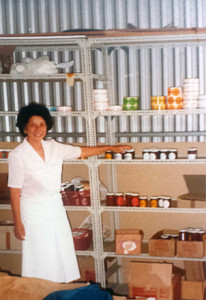 1984, Mary in her Jandabup factory
